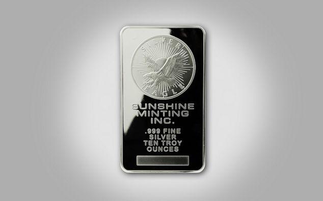 Aumento di richiesta di materia prima di comprare argento